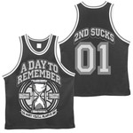 2nd Sucks Basketball Jersey