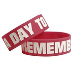 A Day To Remember Logo Pink Bracelet