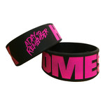 Homesick Black And Pink Bracelet