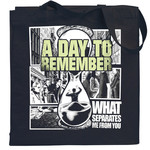 What Separates Me From You Canvas Tote Bag