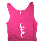 E Logo (Pink) Crop Top