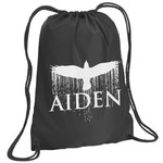 Aiden Bird Drawstring Backpack