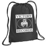 Victory Records Logo Drawstring Backpack