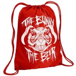 Mutant Bunny Bear Drawstring Backpack