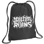 Within The Ruins Logo Drawstring Backpack