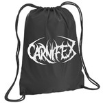 Carnifex Logo Drawstring Backpack