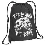 Skull Logo Drawstring Backpack