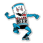 Killer Beer Sticker