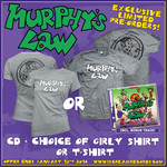 Murphys Law - Murphy's Law CD and Shirt