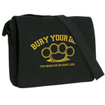 Brass Knuckles Messenger Bag