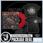 Shirt & Vinyl Rose Package