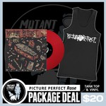 Vinyl & Tank Top Rose Package