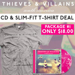 South America CD and TShirt  Package