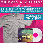 South America LP and Tshirt  Package