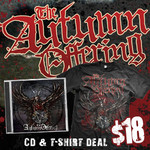 The Autumn Offering CD and TShirt  Package