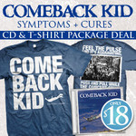 Comeback Kid - Symptoms + Cures CD and Tshirt