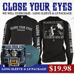 We Will Overcome Long Sleeve And LP  Package