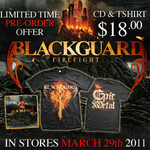 Blackguard - Firefight CD & T-Shirt  Deal