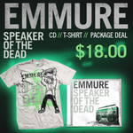 Speaker Of The Dead CD & T-Shirt  Package