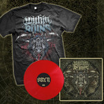 Omen Red Vinyl And T-Shirt  Package