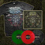 Omen Complete Vinyl Set 3 LPs and T-shirt Package