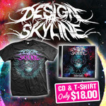 Design The Skyline - Nevaeh CD and T-Shirt