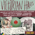 Charlatan Mint Green LP Deluxe  Package