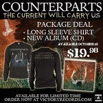 The Current Will Carry Us CD & Shirt  Package