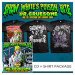 Featuring Dr. Gruesome And The Gruesome Gory Horror Show CD + Shirt Package