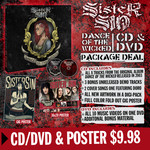 Sister Sin - Dance Of The Wicked CD & Poster