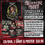 CD, T-Shirt and Poster Package