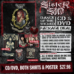 CD, Two Shirts And Poster Package
