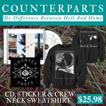 CD, Sticker And Crew Neck Sweatshirt Package