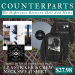 Counterparts - Vinyl, Sticker And Crew Neck Sweatshirt
