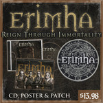 Reign Through Immortality CD, Poster And Patch Package