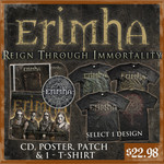 Reign Through Immortality CD, Poster, Patch And T-Shirt Package