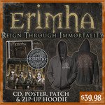 Erimha - Reign Through Immortality CD, Poster, Patch And Zip Up Hoodie