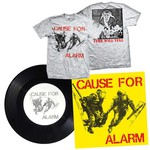 Cause For Alarm 7 Inch and T-Shirt Package