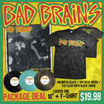 Bad Brains - Omega Sessions 10 Inch and T-Shirt