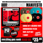 Everything Goes Numb Vinyl, T-Shirt, Patch and Slip Mat Package