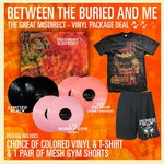 The Great Misdirect Vinyl, T-Shirt and Gym Shorts Package