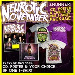 Anunnaki CD, Poster and Choice Of 1 T-shirt Package