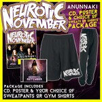 Anunnaki CD, Poster And Choice Of Sweatpants Or Gym Shorts Package