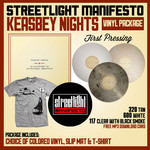 Keasbey Nights Vinyl, Slip Mat and T-Shirt Package