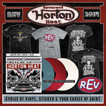 REV Vinyl, Sticker and Shirt Package