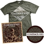 Comeback Kid - Shirt & Sticker Die Knowing