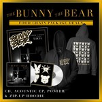 The Bunny The Bear - Food Chain Hoodie & CD