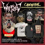 Cannibal CD or Vinyl, Hoodie, Poster & Shirt Package