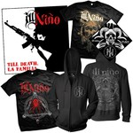 CD, Zip-Up Hoodie, Bandana and Both T-Shirts Package