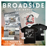 Old Bones Shirt, CD and Poster Package